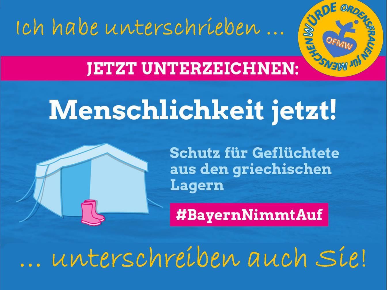 2021 03 26 Bayern nimmt auf