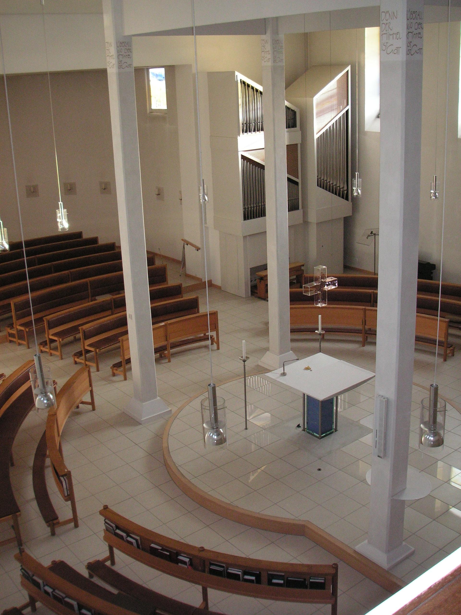 Kapelle Aufsicht