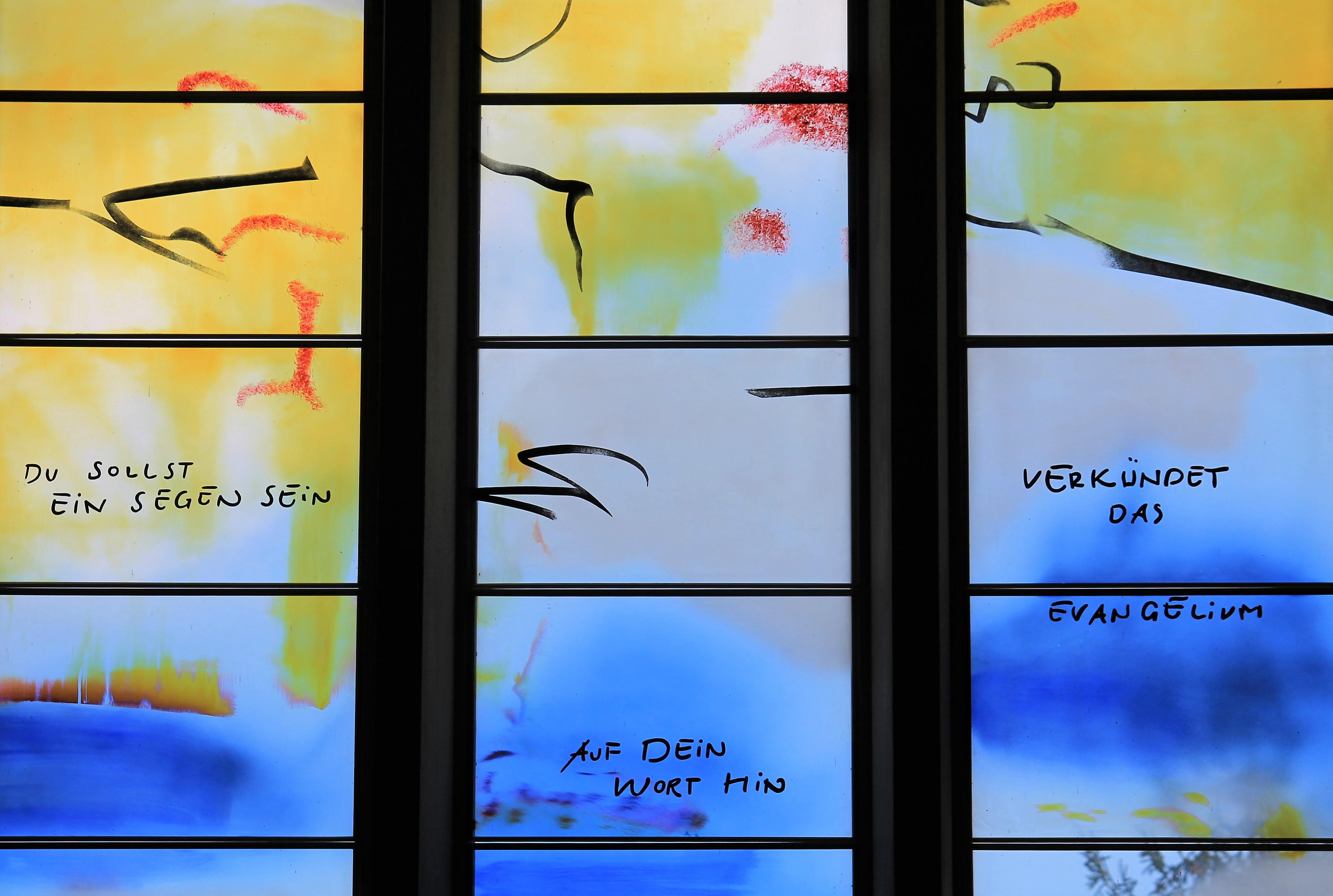 Kapelle Fenster Ost